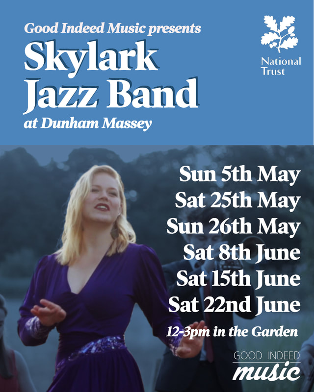 Skylark Jazz Band at Dunham Massey
